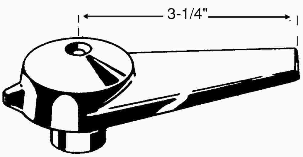 POWERS PROCESS CONTROLS 420-495 Lever Handle