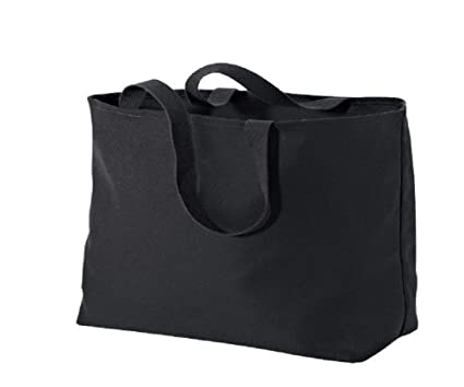 Image Unavailable. Image not available for. Color  Oversized Twill Cotton  Tote Bag ... aafeb6506cc63