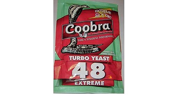 TURBO de levadura - TURBO de levadura 48 ETREME - Alcohol de alta/espíritu de levadura/Vodka levaduras/licor/Alcohol medidor: Amazon.es: Hogar
