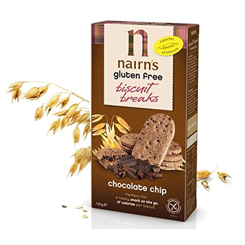 (4 PACK) - Nairns - Gluten Free Chocolate Chip | 12 box | 4 PACK BUNDLE