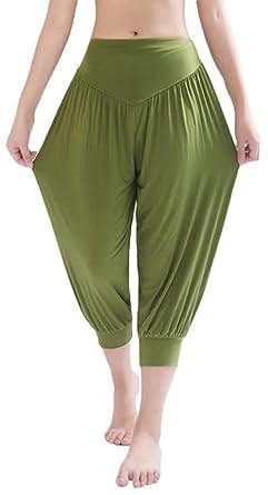 Amazon.com: AvaCostume Women's Harem Capri Pants: Clothing