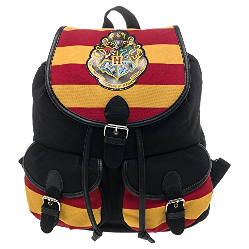 Harry Potter Hogwarts Knapsack Backpack 12 x 16in (Harry Potter Hogwarts School)