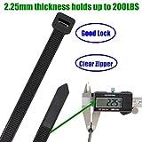 Long Heavy Duty 26 Inch Nylon Zip Cable