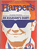 img - for Harper's Magazine, vol. 245, no. 1472 (January 1973): An Assassin's Diary (The Notebooks of Arthur Bremer, Who Wanted to Kill President Nixon but Instead Assured His Reelection) book / textbook / text book