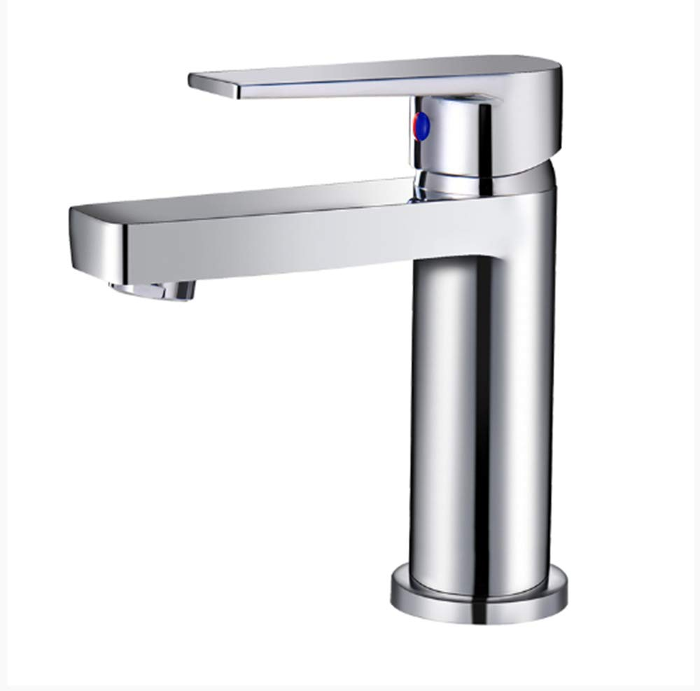 Hot and Cold All Copper Faucet Bathroom Basin Faucet wash Basin Single Hole Toilet washbasin Basin Faucet