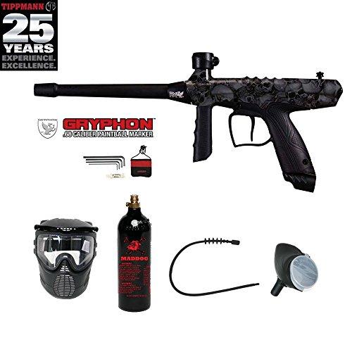 MAddog Tippmann Gryphon FX Bronze Paintball Gun Package – Skull Review