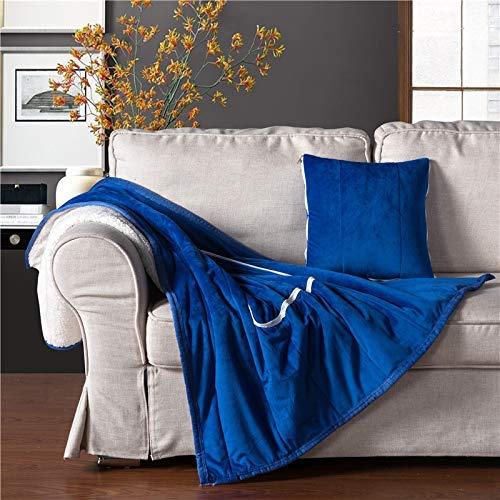 VEA-DE Creative Kissenbezug für Sofa Schlafzimmer, Home Super weiches Samt Fale aus Kristall vielseitig lässig Kissen Kissen Steppdecke (Farbe  Sky Blau) (Farbe   lila) B07LG183PH Kopfkissenbezüge