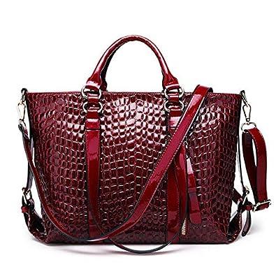 8742dc6fb4b4 Ebuy IndiaElegant Pu Leather Tote Bag Square Handbag Women Newest  Crossbody Bag  Amazon.in  Shoes   Handbags