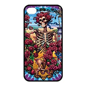 Grateful Dead Custom TPU Back Cover For Iphone 4 4s