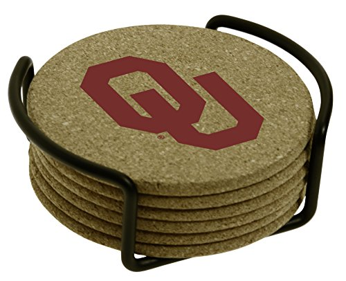 Thirstystone University of Oklahoma with Holder Included Cork Gift Set ()