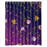 MaSoyy Polyester Flower Bath C