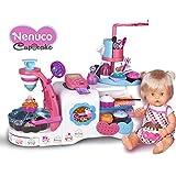 Nenuco - Muñeco: Tienda cupcakes en caja, 58 x 39 cm (Famosa 700011693)