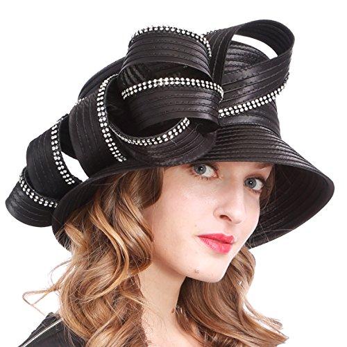 Womens Tea Party Church Baptism Kentucky Derby Dressy Hat -
