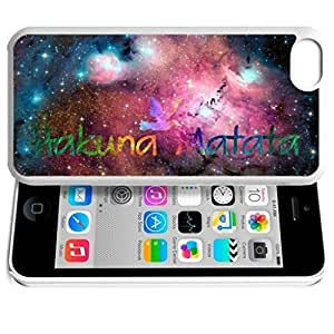 diy phone caseAfrica Ancient Proverb HAKUNA MATATA Color Accelerating Universe Star Design Pattern HD Durable Hard Plastic Case Cover for iphone 6 4.7 inchdiy phone case