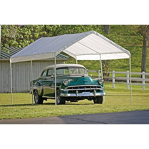 - ShelterLogic Max AP Canopy 10-Foot x 20-Foot 6 Legs in White