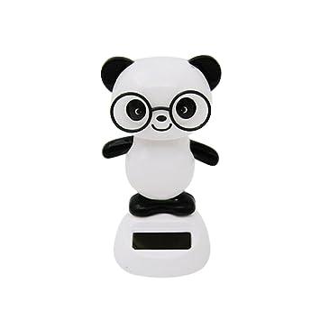 Danse Panda Mignon Jouet Modele L Energie Solaire Jouet Bobble