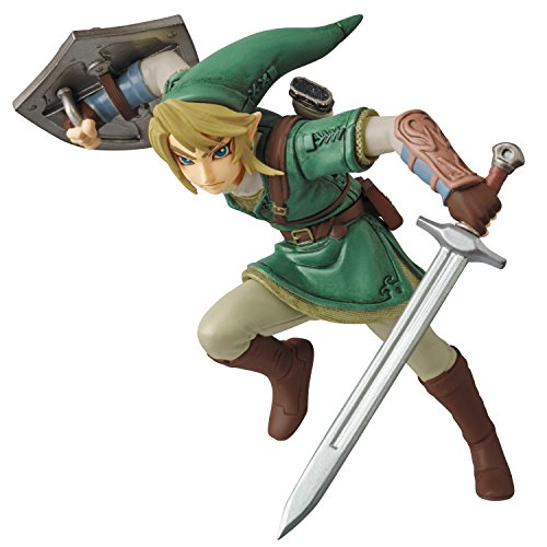 Medicom-Nintendo-Ultra-Detail-Series-The-Legend-Of-Zelda-Twilight-Princess-Hd-Link-Udf-Figure