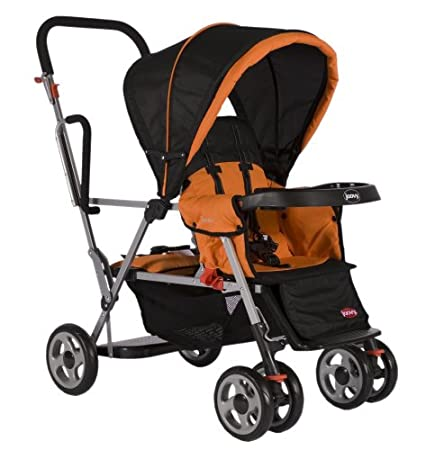 Joovy Caboose Stand-On Tandem Stroller Orange (Discontinued by Manufacturer)
