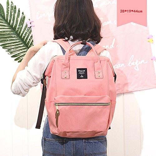 Tasche weibliche Umhängetasche / koreanische Version der Schule Wind Freizeit tragbare Student Tasche / Reise Mode Rucksack weiblich / Schultern wilde Flut Paket / eine Vielzahl von Farbe Rucksack ( F 12 WiaP63nZ63