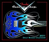 img - for Fender Custom Shop Guitar 2011 Daily Boxed Calendar (Calendar) book / textbook / text book