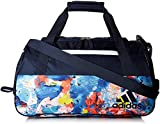 adidas Women's Squad III Duffel Bag, One Size, Collegiate Navy/Jodo/White