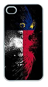 Eagles Hawk Flags Usa Indiana State HAC1014206 PC Silicone Case Cover for Iphone 5/5S White