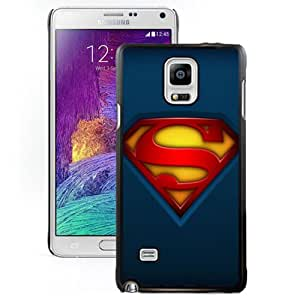 Popular And Durable Designed Case For Samsung Galaxy Note 4 N910A N910T N910P N910V N910R4 With Fabric Superman Logo Phone Case