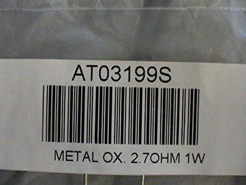 Metal Oxide 2.7 Ohm 1 Watt Resistor