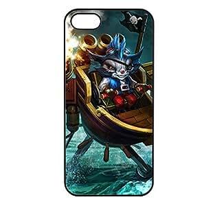 Rumble-003 League of Legends LoL case cover for Apple iPhone 5/5S - Plastic Black