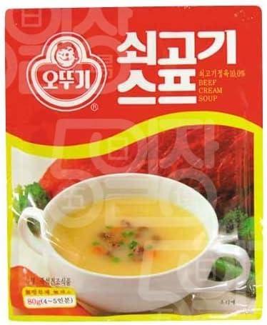 [1005] オトギ レトルト ビーフ クリームスープ 水で溶いて温めるだけ! 80g(4~5人前) [並行輸入品]