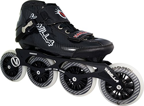 VNLA Carbon Speed Inline Skates Black 9