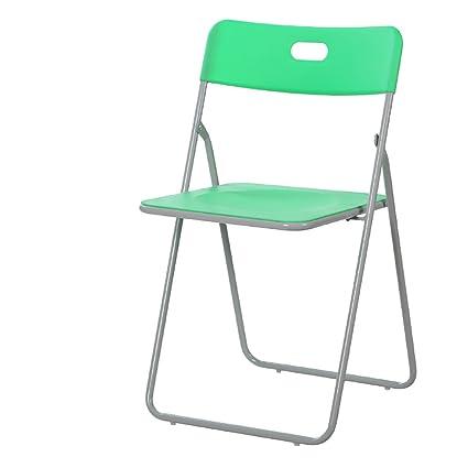 SH-Chairs Silla Plegable Silla Plegable de plástico Silla de ...
