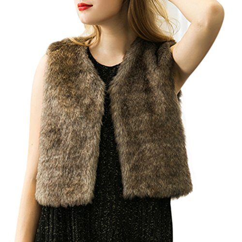 騒ぎ薄いロープMIOIM ファー ベスト レディース 華やかに魅せる暖か 春秋冬 防寒コート ショート 無地 フェイクファー アウター トレンド 毛皮 袖なし