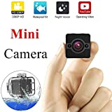 YOUYOUTE SQ12 Spy Mini Camera HD 1080P Waterproof IR Night Vision 155°wide Angle Sport Camcorder Motion Detectiom Video Recorder Hidden DVR Nanny Cam