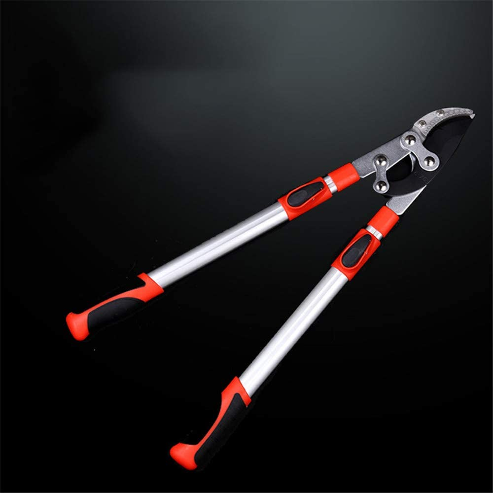 Telescopic Anvil Garden Tree Loppers,Heavy Duty Ratchet Lopper Extendable to 1050MM for Pruning Tree Hedge Branch