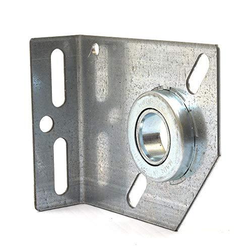 Garage Door Spring Anchor Center Plate w/Bearing 3 3/8 Inch ()
