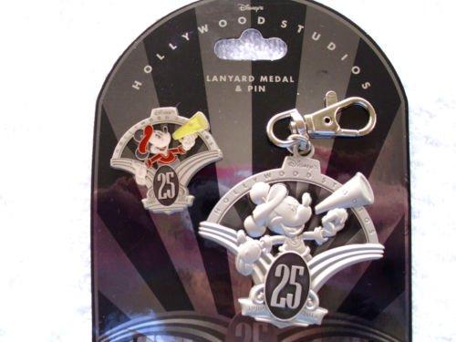 - Disney Hollywood Studios 25th Anniversary Lanyard Medal & Pin Set