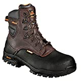Men's Thorogood 6'' Emperor Toe Composite Safety Toe Work Boot Brown, Tobacco, 10.5 2E