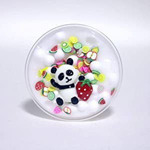 Panda Beads Slime Clay Sludge Toy Kids Adult Stress Relief Plasticin Toys Gift, Toys St. Patrick Easter Gifts
