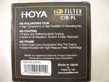 Hoya 52mm Digital-hmc Circular Polarizer Multi Coated Pro 1 Extra Thin Glass Filter 1