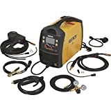 Klutch MIG Welder with Multi-Processes, Spool Gun, LCD Display and Dual-Voltage Plug - Inverter, MIG, Flux-Cored, Arc and TIG, 120V/230V, 40 to 200 Amp Output, Model Number MP200siDV LCD