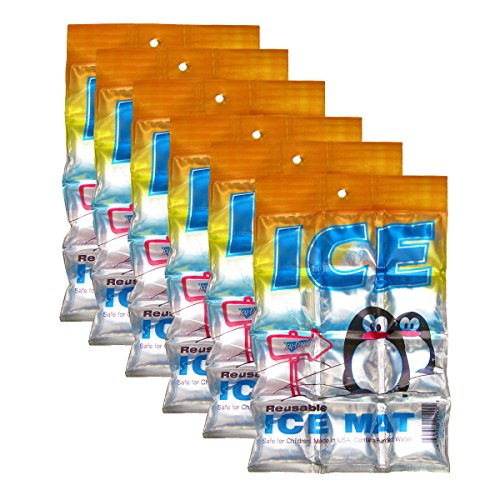 Icy Cools Penguin Reusable Ice Mat - 6 Pack (Ice Cool compare prices)