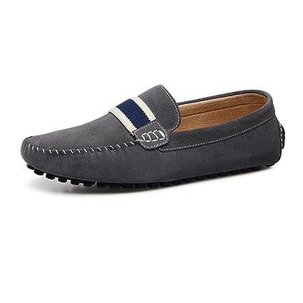 Xiazhi-shoes, Mocasines de conducción de los Hombres Mocasines con Cordones Penny Comfort de