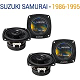 Fits Suzuki Samurai 1986-1995 Factory Speaker Replacement Harmony (2) R4 Package New