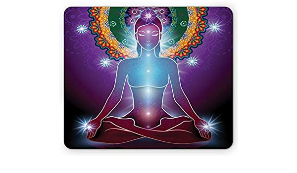 Cojín de ratón de la Yoga, Paz Interna Kundalini Yantra ...