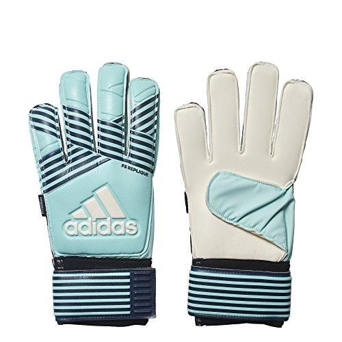 addias Ace FS Replique Aqua, Size 8 - Adidas Fingersave Goalkeeper Gloves