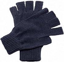 Regatta Unisex Fingerless Mitts / Gloves (One Size) (Navy)