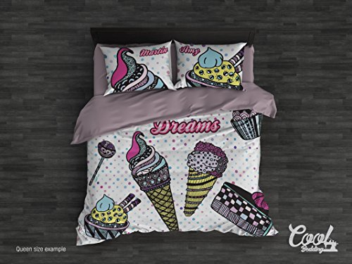 Cheap  Cool Bedding Sweet Dreams Duver Cover Set by, Teenage Bedroom Decor (Twin..