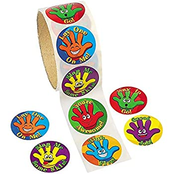 Amazon.com: Silly Germ Stickers - Prizes 100 per Pack