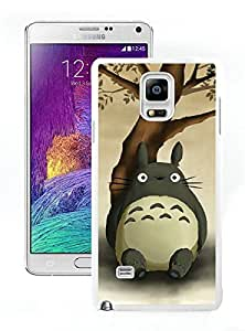 Samsung Note 4 Case,Excellent protection My Neighbor Totoro 14 White For Samsung Note 4 Case